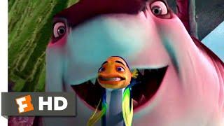 Shark Tale (2004) - Gangster Shark Chase Scene (9/10)   Movieclips
