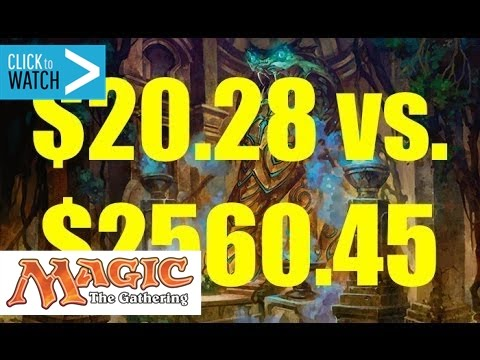 $20.28 Mill Deck BEAT a $2,560.45 Control Deck!!!
