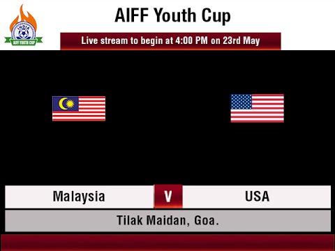 #AIFFYouthCup - MALAYSIA vs USA.