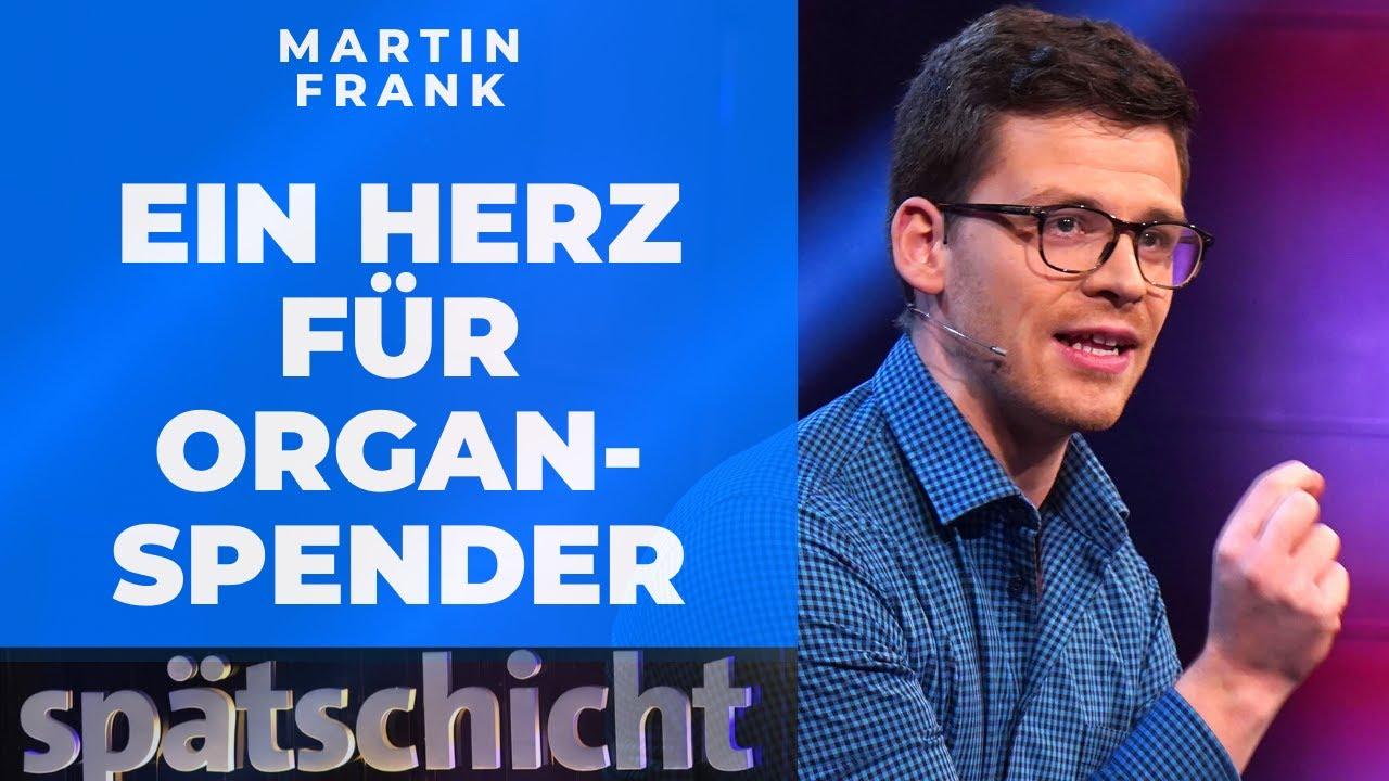Organspende: Würde Martin Frank sein Herz verschenken? | SWR Spätschicht