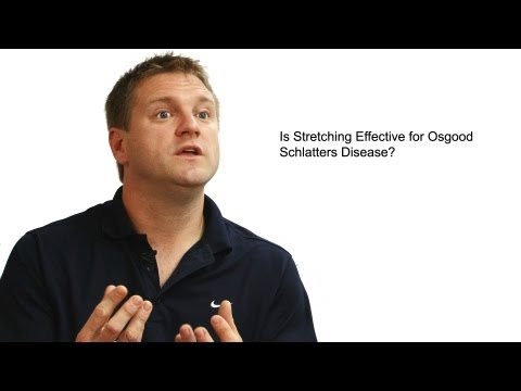 Is Stretching Effective for Osgood Schlatters Disease?