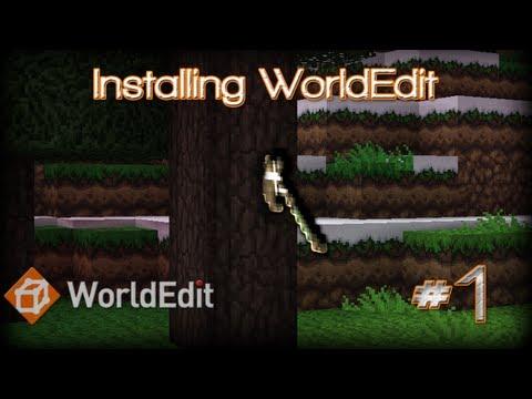 WorldEdit Tutorials: How to install WorldEdit (CraftBukkit Plugin) [1.4.2]