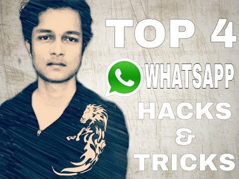 Top 4 Whatsapp Tricks || 1000% Real Tricks