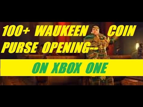 Xbox One 100 Plus Waukeen Coin Purse Opening On Neverwinter