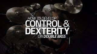 How To Develop Control & Dexterity On Double Bass - Drum Lesson (Drumeo)