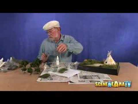 How To Build an American Indian Diorama (Part 2) - School Project | Scene-A-Rama
