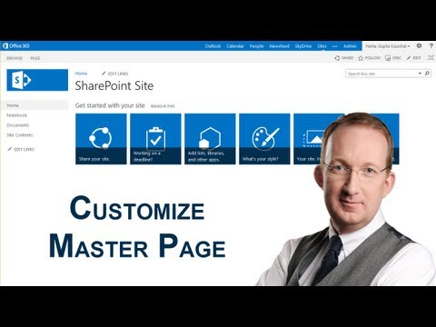 Customize A SharePoint 2013 Master Page