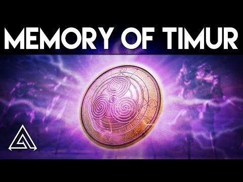 Destiny Rise of Iron | Memory of Timur Artifact Gameplay - Control Enemies