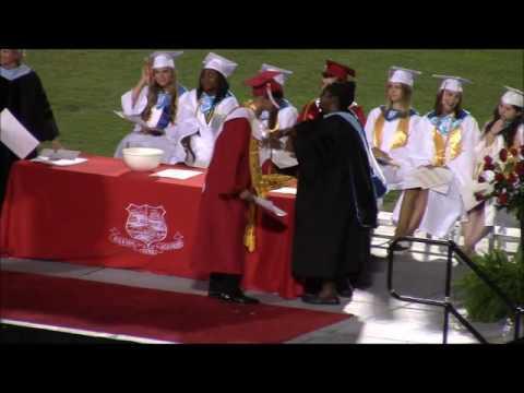 Nathaniel Graduates High School