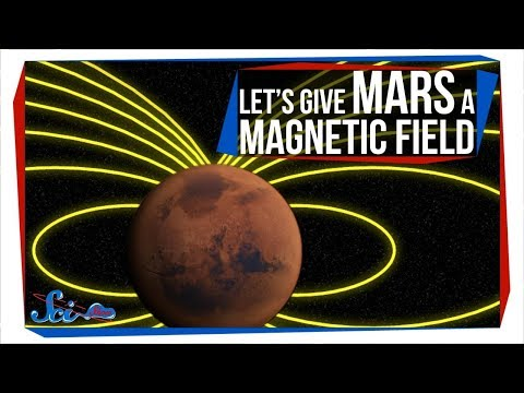Could We Give Mars a Magnetic Field?