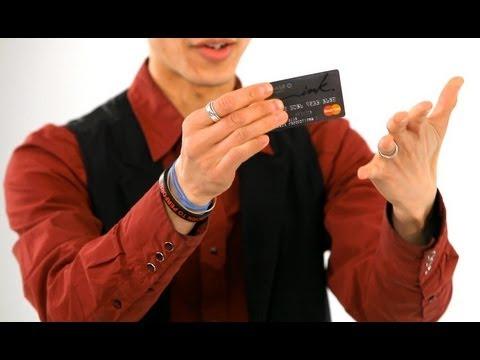 How to Break & Restore a Credit Card   Magic Tricks