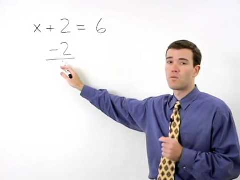 One-Step Addition Equations | MathHelp.com