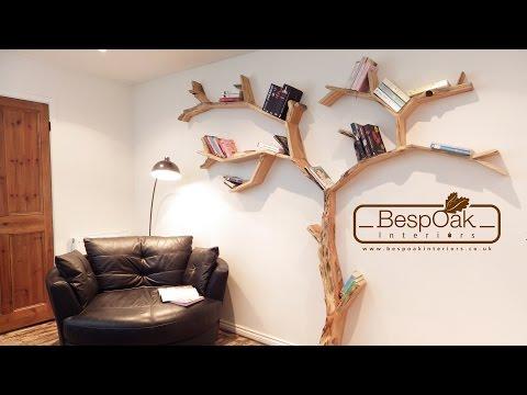 BespOak Interiors - Handmade Tree Shelves