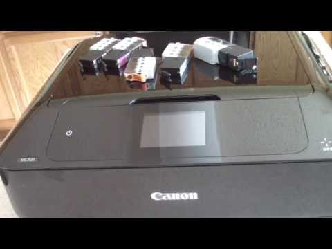 UNBOXING CANON PIXMA MG7520 ALL IN ONE NETWORK PR