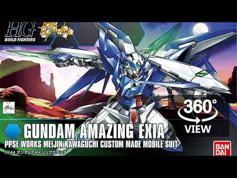 [360°Degree] HG 1/144 Amazing Exia
