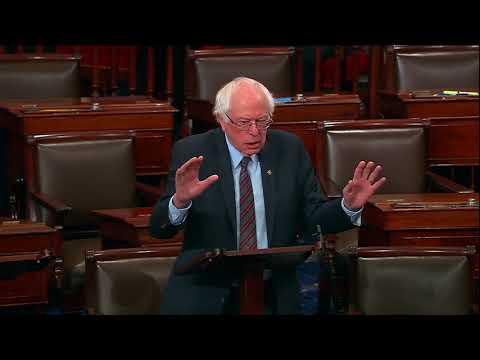 Bernie Speaks on #NationalWalkoutDay