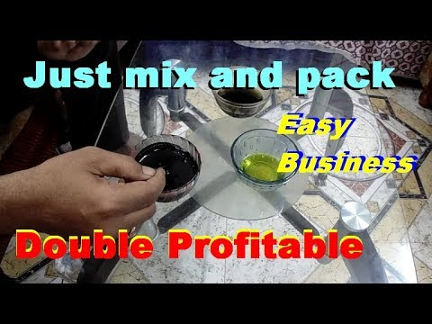 Easy Business Idea . Just mix and pack easy business idea. Low investment business idea.
