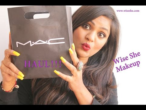 MAC Haul|Cult Favorite MAC Lipstick|Hot MAC MUA|WiseShe Makeup