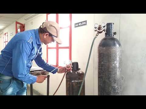 GAS WELDING IN HINDI