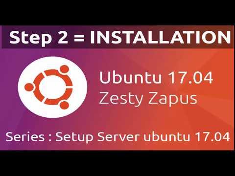 Ubuntu Server 17.04 installation and basic configuration Static IP DNS SERVER
