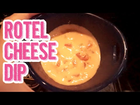 Easy Rotel Cheese Dip Recipe