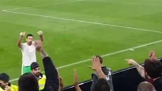 Buffon, omaggio ai tifosi della Lazio e la maglia con dedica   Juve - Lazio 1-2 14/10/2017