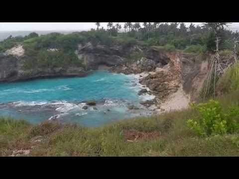 One of the beauties of nature in Nusa Lembongan