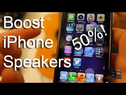 Boost iPhone/iPod Touch Speakers and Volume by 50%!!! Awesome Cydia Tweak: EUUnlimited (HD)