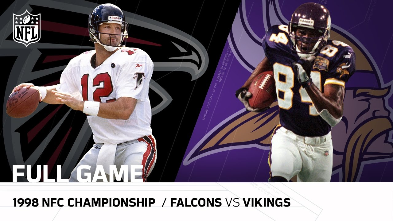 1998 NFC Championship Game: Atlanta Falcons vs. Minnesota Vikings  NFL Full Game