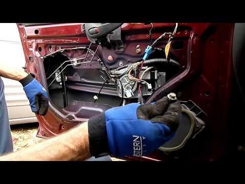 Pontiac Grand Am Window Motor Regulator Removal