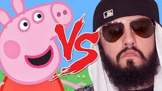 Peppa Pig vs Mussoumano | Batalha Cartoon