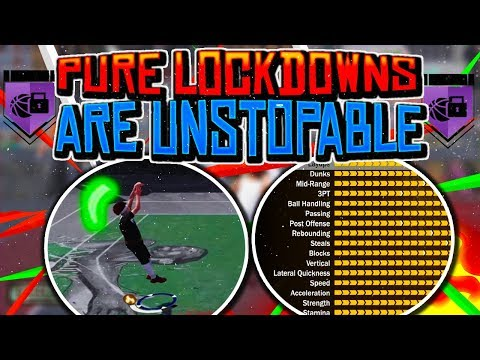 NBA 2K18 •PURE LOCKDOWNS ARE UNSTOPPABLE!   SHOOTING GREENS WITH MY LOCK!