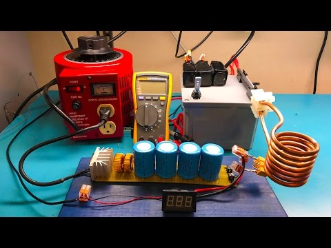 Testing the Portable Induction Heater and How to Build One