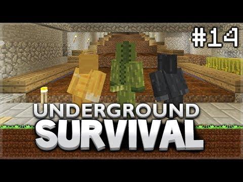 Minecraft Xbox - Underground Survival - The Dark Room! Episode 14