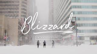 Blizzard in Philadelphia (4k)