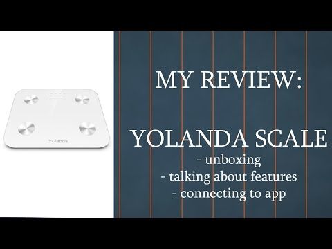 My Review & Unboxing || Yolanda Body Composition Bathroom Scale