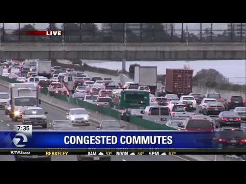 Bay Area commute getting more congested