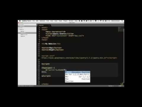 Learn jQuery in 30 Days  Lesson 1 3   Events 101www savevid com