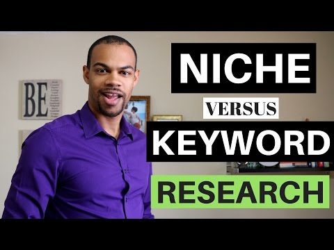 Amazon Kindle Niche Keyword Research - Difference Between A Niche And Keyword - Kindle Publishing