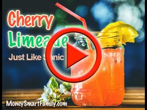 How to make Cherry Limeade Recipe that tastes like Sonic Drive In -  DIY Copy Cat