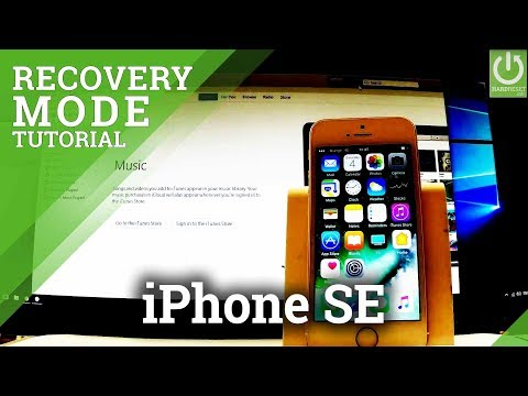 APPLE iPhone SE Recovery Mode - Enter / Quit iPhone Recovery