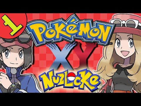 Pokemon X and Y Episode 1 | Let's Play Pokemon XY Gameplay |  - VS Multiplayer Nuzlocke!