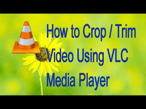 How to Crop / Trim Video Using VLC Media Player ( in Tamil )