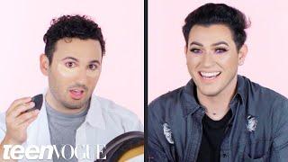 Manny MUA Talks a Beginner Through a Makeup Tutorial   Teen Vogue