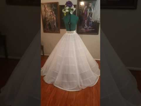 Tailoring Master class: 2,5 Meters in diameter ball gown designer petticoat