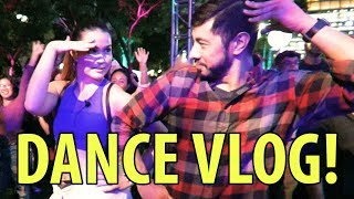 Jaby & Achara Dance Vlog! | The Extraordinary Journey of the Fakir