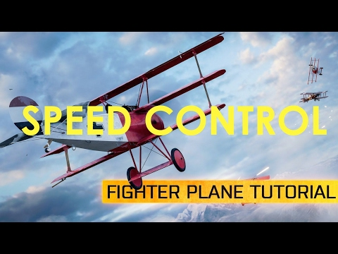 HOW TO FLY PLANES IN BATTLEFIELD 1 | PLANE SPEED CONTROL