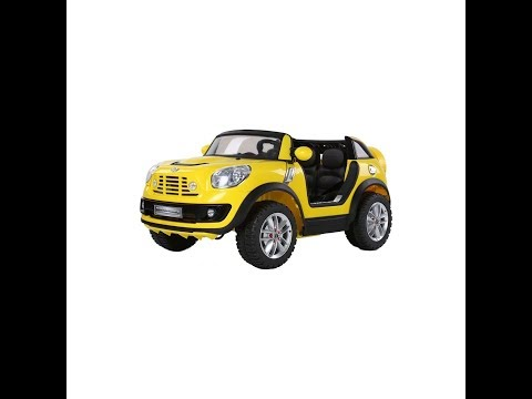 How to Babyhope JJ-299 -Mini Cooper Beachcomber XL Licensed 12v 2 Seater Ride On Car -  DIY Unboxing
