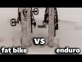 fat bike VS enduro bike (test drive)
