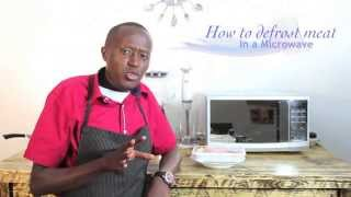 How To Defrost Meat Using A Microwave Ovenhd